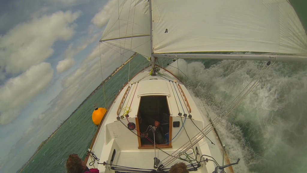 Rounding Salt Works on Anniversary day captured on the Go Pro
