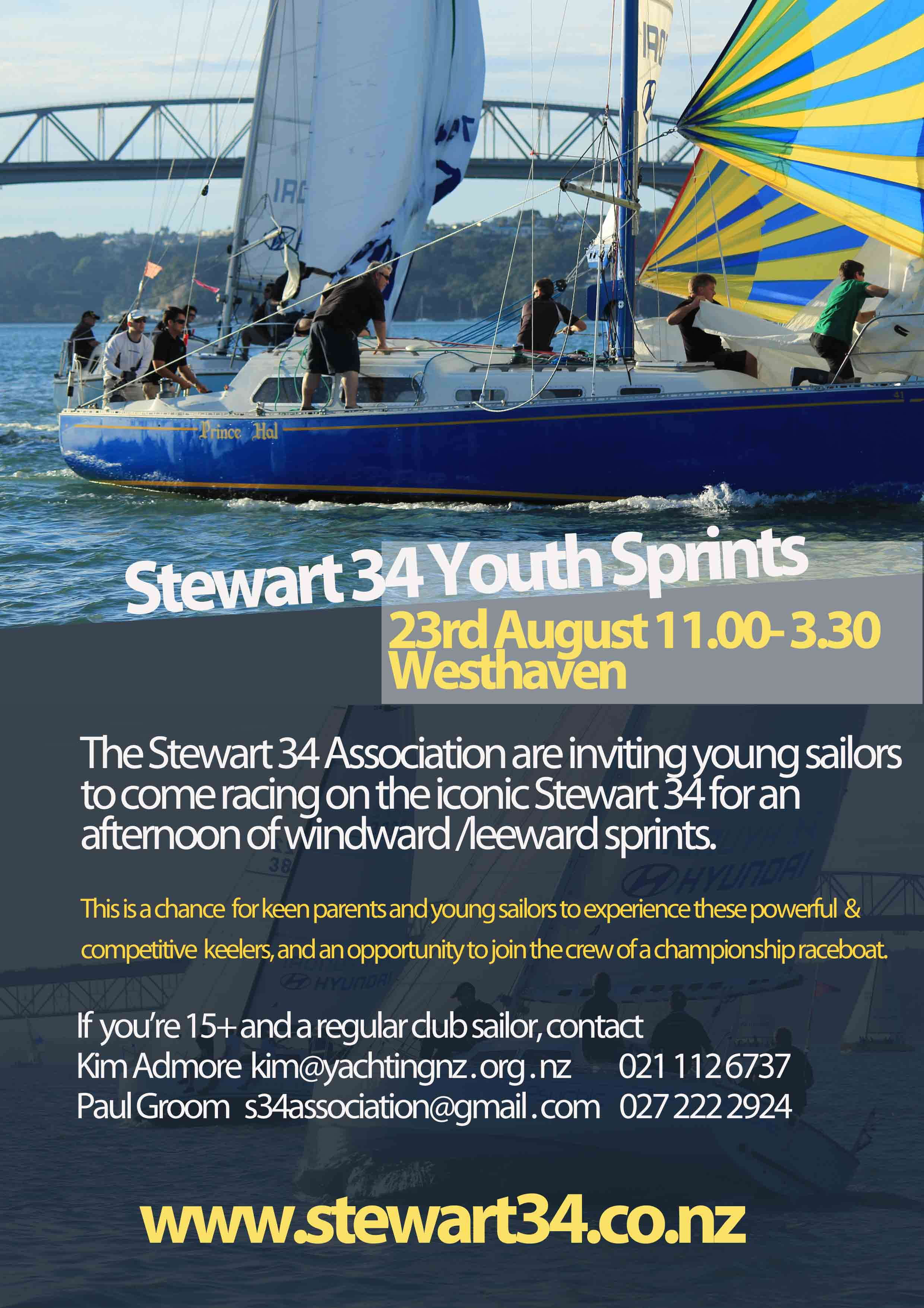 youth sprint flyer